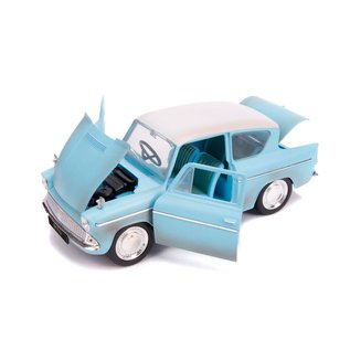 JADA TOYS JAD 31127 HARRY POTTER WITH FORD ANGLIA DIECAST 1/24