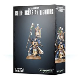 GAMES WORKSHOP WAR 99120101254 ULTRAMARINES CHIEF LIBRARIAN TIGURIUS