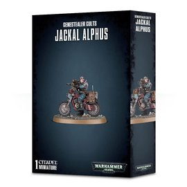 GAMES WORKSHOP WAR 99120117013 GENESTEALER CULTS JACKAL ALPHUS