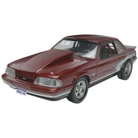 REVELL USA RMX 854195 Plastic Model Kit-'90 Mustang LX 5.0 Drag Racer 1:25