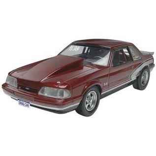 REVELL USA RMX 854195 Plastic Model Kit-'90 Mustang LX 5.0 Drag Racer 1:25