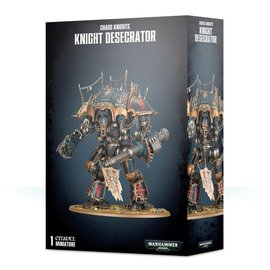 GAMES WORKSHOP WAR 99120102105 CHAOS KNIGHTS KNIGHT DESERATOR