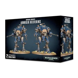 GAMES WORKSHOP WAR 99120108015 IMPERIAL KNIGHTS ARMIGER HELVERINS
