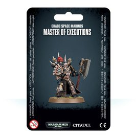 GAMES WORKSHOP WAR 99070102013 CHAOS SPACE MARINES MASTER OF EXECUTIONS