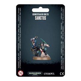 GAMES WORKSHOP WAR 99070117006 GENESTEALER CULTS SANCTUS
