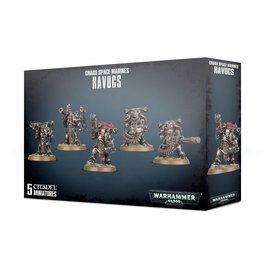 GAMES WORKSHOP WAR 99120102096 CHAOS SPACE MARINES HAVOCS
