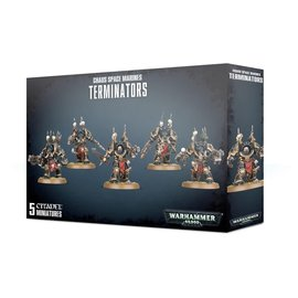 GAMES WORKSHOP WAR 99120102097 CHAOS SPACE MARINES TERMINATORS