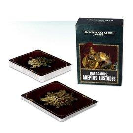 GAMES WORKSHOP WAR 60220108002 DATACARDS ADEPTUS CUSTODES