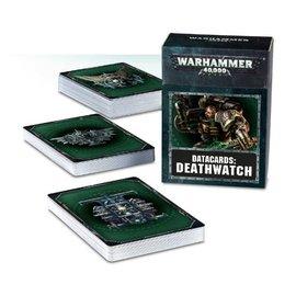 GAMES WORKSHOP WAR 60220109002 DATACARDS DEATHWATCH
