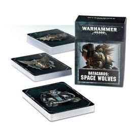 GAMES WORKSHOP WAR 60220101011 DATACARDS SPACE WOLVES