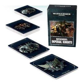GAMES WORKSHOP WAR 60220108003 DATACARDS IMPERIAL KNIGHTS
