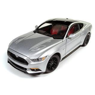 AUTOWORLD AMM AW237 MUSTANG 2017 GT 1/18 INGOT SILVER 1/18
