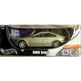 HOT WHEELS H/W 3243 BMW 645CI GREY 1/18 DIECAST