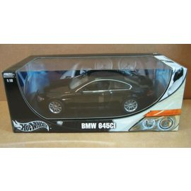 HOT WHEELS H/W 7528 BMW 645CI 1/18 DIECAST BLACK