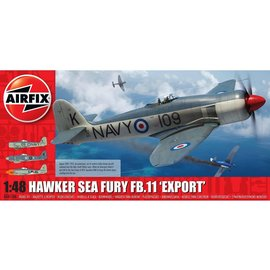 AIRFIX AIR 06106 HAWKER SEA FURY FB11 1/48 MODEL KIT