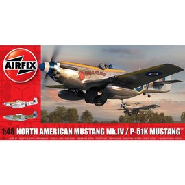 AIRFIX AIR 05137 P51K MUSTANG 1/48 MODEL KIT