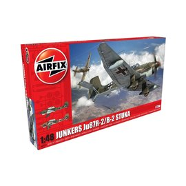 AIRFIX AIR 07115 JUNKERS JU87R STUKA MODEL KIT