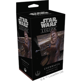FANTASY FLIGHT FFG SWL24 CHEWBACCA FIGURE