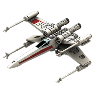 FANTASY FLIGHT FFG SWZ12 T65 XWING SHIP