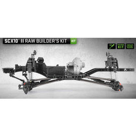 AXIAL RACING AXI 90104 SCX10 II RAW BUILDER'S KIT