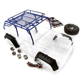 INTEGY INT C26623BLUE JEEP WITH CAGE BODY