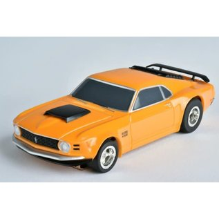 AFX AFX 21050 MG+ '70 Mustang Boss Orange slot car