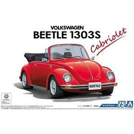AOSHIMA AOS 55724 VW BEETLE CONVERTIBLE 1975