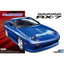 AOSHIMA AOS 55809 SAVANNA RX7 1/24 MODEL KIT