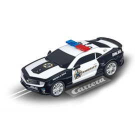 CARRERA CAR 64031 CAMARO ZL1 SHERIFF SLOT CAR