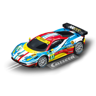 CARRERA CAR 64053 FERRARI 458 ITALIA GT2 GO SLOT CAR
