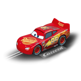 CARRERA CAR 64082 LIGHTNING MCQUEEN GO SLOT CAR