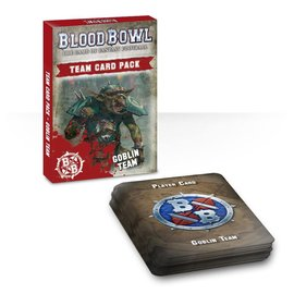 GAMES WORKSHOP WAR 60220909002 BLOOD BOWL TEAM CARD PACK GOBLIN TEAM