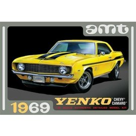 AMT AMT 1093 1/25 1969 Chevy Camaro, Yenko model kit