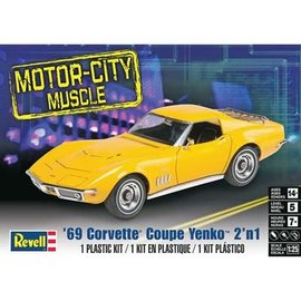 REVELL USA RMX 854411 1/25 '69 Corvette Coupe Yenko model kit