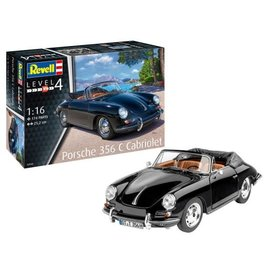 REVELL GERMANY RVL 07043 1/16 Porsche 356 C Cabriolet model kit