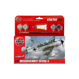 AIRFIX AIR 55106 1/72 Messerschmitt Bf 109E Starter Set