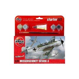 AIRFIX AIR A55106 1/72 Messerschmitt Bf 109E Starter Set