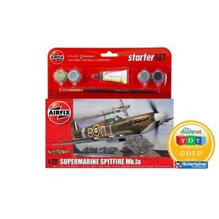 AIRFIX AIR 55100 1/72 Small Starter Set Spitfire MK1a