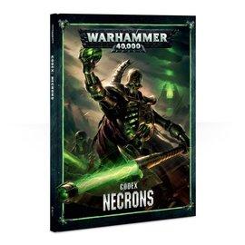 GAMES WORKSHOP WAR 60030110006 CODEX NECRONS 8TH
