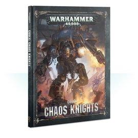 GAMES WORKSHOP WAR 60030102021 CODEX CHAOS KNIGHTS 8TH