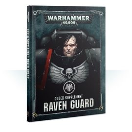 GAMES WORKSHOP WAR 60030101045 CODEX SUPPLEMENT RAVEN GUARD