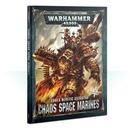 GAMES WORKSHOP WAR 60030102020 CODEX HERETIC ASTARTES CHAOS SPACE MARINES 8TH