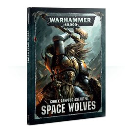 GAMES WORKSHOP WAR 60030101040 CODEX SPACE WOLVES 8TH