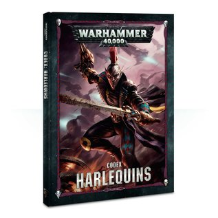 GAMES WORKSHOP WAR 60030111003 CODEX HARLEQUINS 8TH