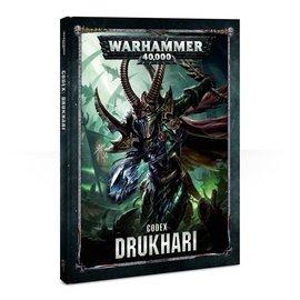 GAMES WORKSHOP WAR 60030112007 CODEX DRUKHARI 8TH