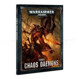 GAMES WORKSHOP WAR 60030115006 CODEX CHAOS DAEMONS 8TH