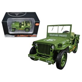 AD 77406 MILITARY JEEP 1/18