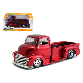 JADA TOYS JAD 97460 CANDY RED 1952 COE PICKUP 1/24 SCALE
