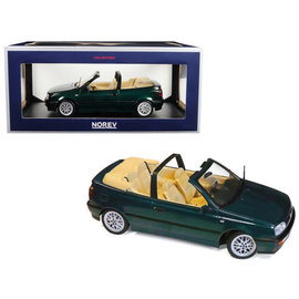 NOR 188431 VW GOLF CABRIO GREEN 1/18 DIECAST-RESIN