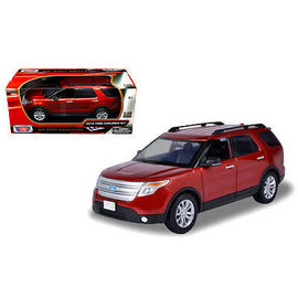MOTOR MAX M/M 73186 2015 FORD EXPLORER 1/18 DIECAST RED